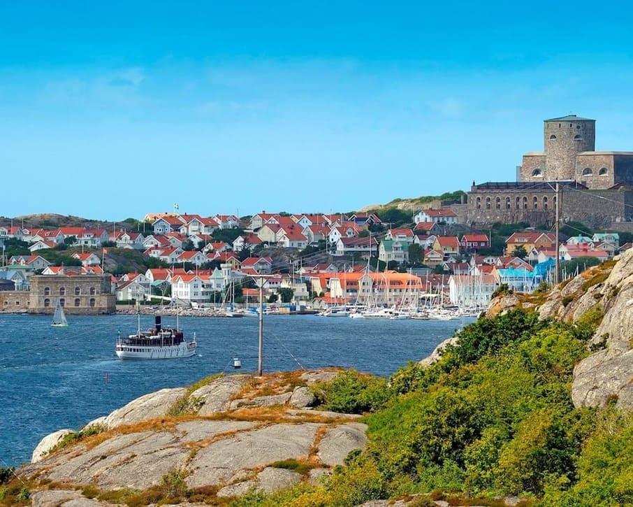Marstrand ligger strax norr om Göteborg