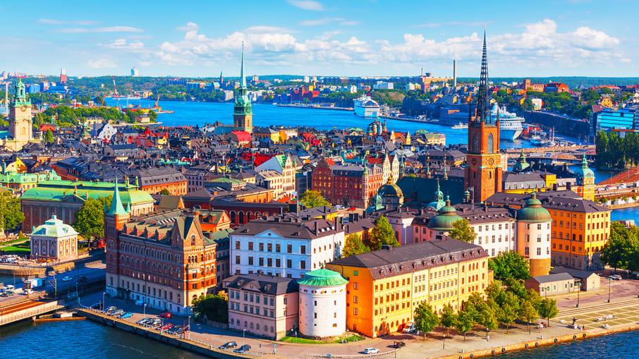 Stockholm är Sveriges huvudstad